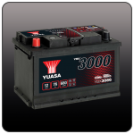 Аккумулятор YUASA YBX3086 (L3, 76 RU)