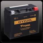 Мото аккумулятор YUASA GYZ20L
