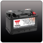 Аккумулятор YUASA YBX1100 (LB3, 70 EU)