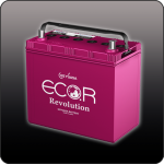 Аккумулятор ECO.R Revolution 75B24R (N-65R)