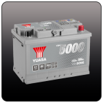 Аккумулятор YUASA YBX5096 (L3, 80 EU)