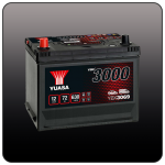 Аккумулятор YUASA YBX3069 (85D26R)