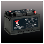 Аккумулятор YUASA YBX1100 (LB3, 65 EU)