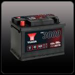 Аккумулятор YUASA YBX3078 (L2, 62 RU)